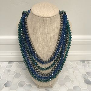 Beautiful Multicolored Layered Necklace